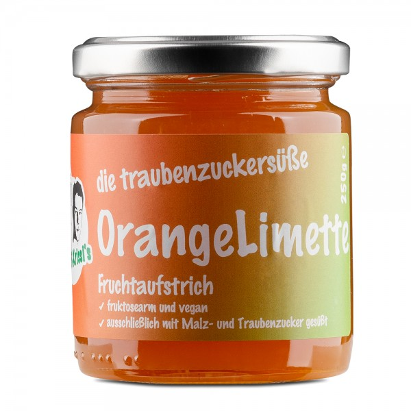 Orange-Limette-Fruchtaufstrich 250g