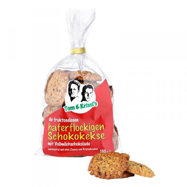 Chocolate Oat Flakes Cookies