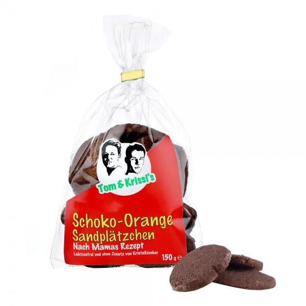 Chocolate-Orange Sand Cookies
