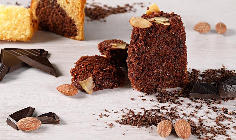 Unter fructosefreie Süßigkeiten zählen auch unsere saftigen Schokokuchen