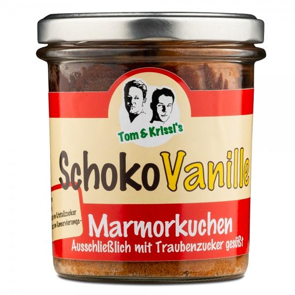 Schoko-Vanille Marmorkuchen