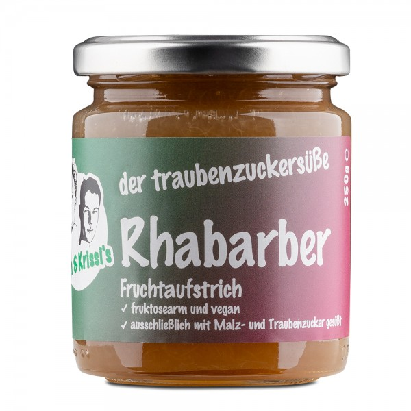 Rhubarb Fruit-Spread 250g